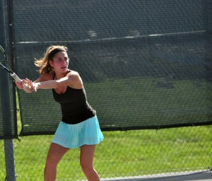 Girls District Tennis Tournament Recap