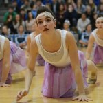 Senior Brooke Erickson performs with the Varsity Lancer Dancers. Photo by Haley Bell
