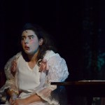 Sophomore Grace Chisholm plays Portia, one of the two stepsisters in the show. Photo by Maddie Smiley