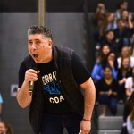 """Art teacher Mr. Rowland competes in East's version of """"The Voice."""" Photo by Diana Percy"""