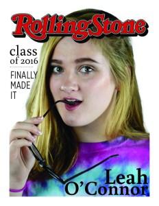 Senior Column: Leah O'Connor