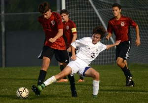Gallery: Boys' Varsity Soccer vs Lawrence