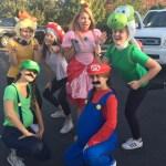 Senior Lilly Horton's family found Mario Kart costumes.
