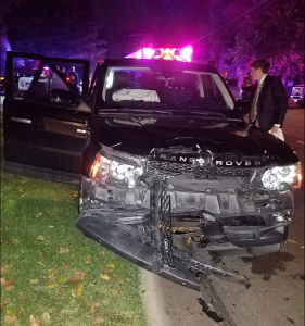 Students Survive Car Crash on Homecoming