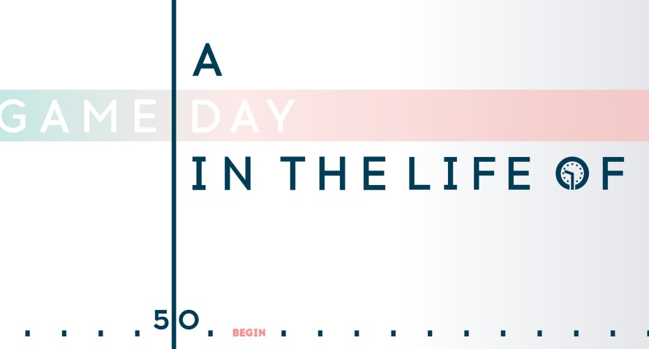 Interactive: A Game Day in the Life of _____