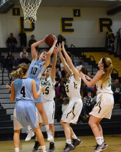Gallery: Girls' Varsity Basketball vs. SMS
