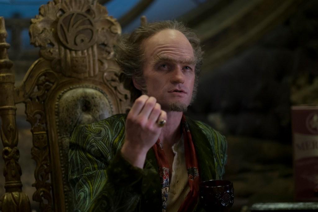 "Neil Patrick Harris as Count Olaf in ""A Series Of Unfortunate Events."" (Joe Lederer/Netflix)"