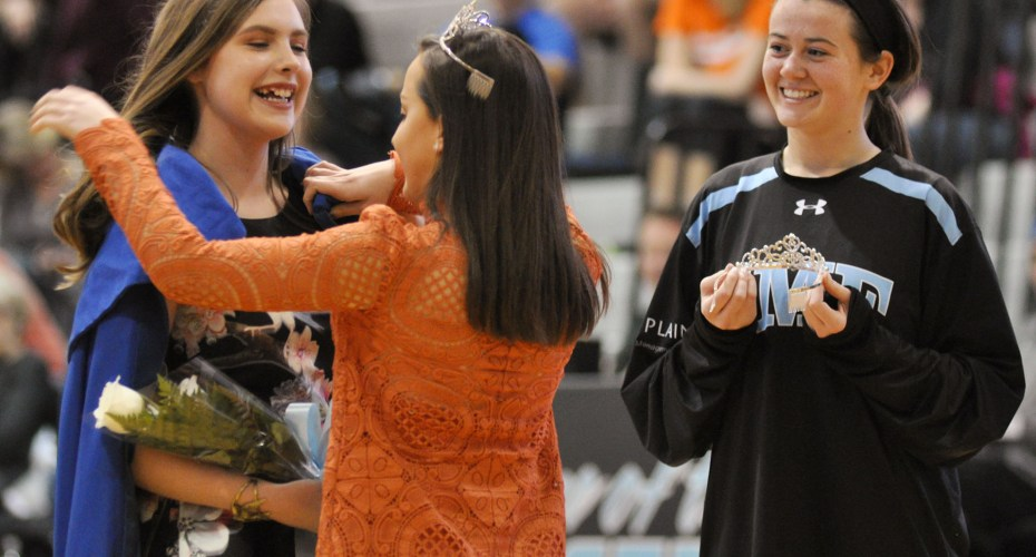 Gallery: Varsity Boys Basketball vs. SMNW and Sweetheart Queen Crowning