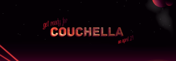 Couchella Tonight in the Cafeteria at 6:00 PM