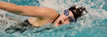 Gallery: Girls Varsity Dual Swim Meet vs Blue Valley North