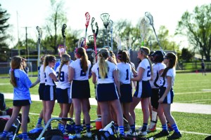 JV Girls Lacrosse Team Dynamic