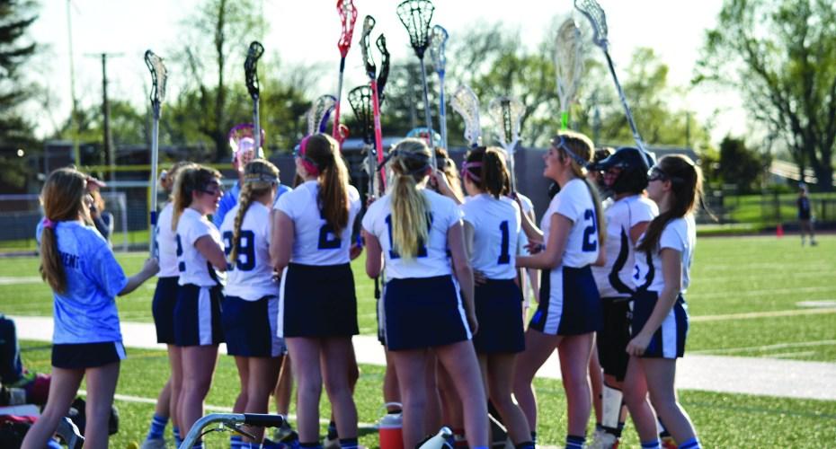 JV Girls Lacrosse Team Dynamic