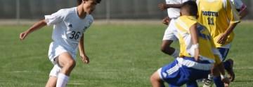 Gallery: Blue Team Soccer vs Olathe South