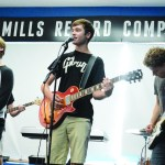The Orbiters preform at Mills Record Company on Friday the 25th. Photo by Katherine McGinness