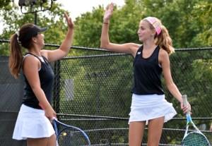 Gallery: Varsity Tennis vs. Saint Teresa Academy