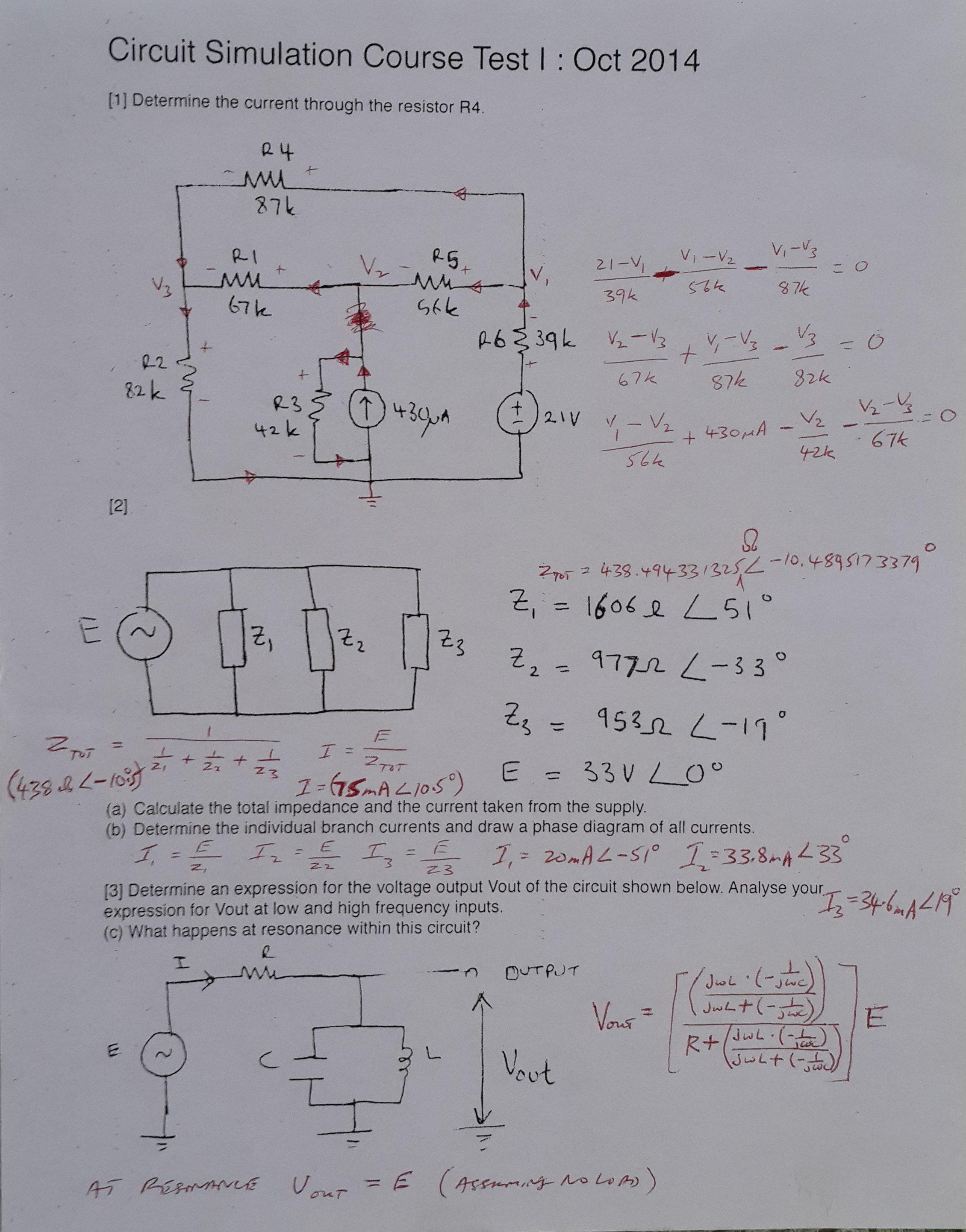 el10a circuit analysis