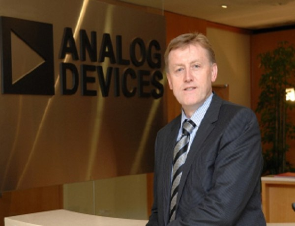 Analog devices' global ceo, Vincent Roche