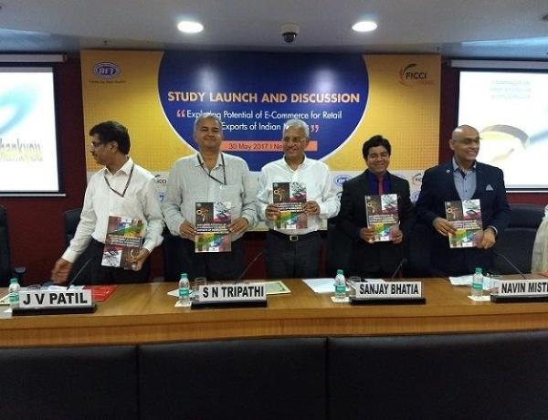 FICCI-IIFT Study launch by SN Tripathi