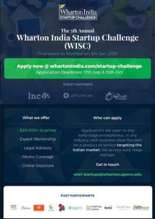 Wharton-India-Startup-Challenge