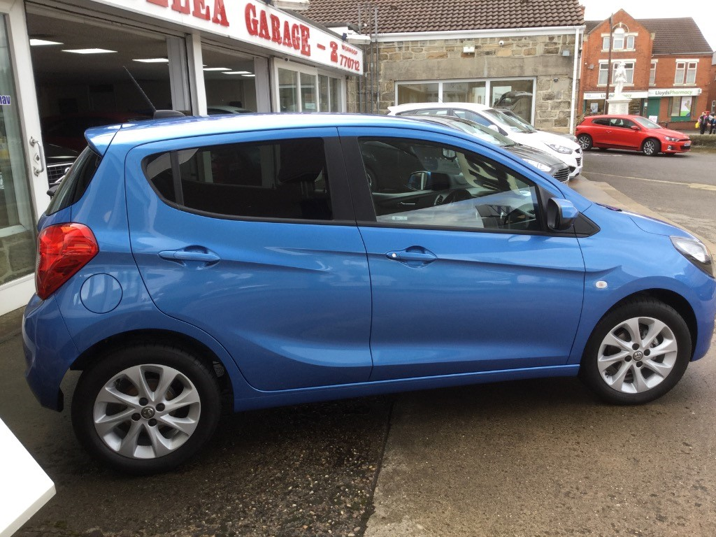 Vauxhall Adam Dimensions Used Blue Vauxhall Adam For Sale South Yorkshire