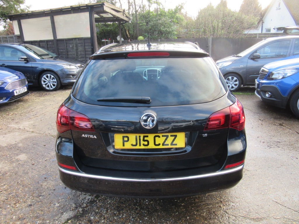 Vauxhall City Windlesham Used Carbon Black Vauxhall Astra For Sale Surrey