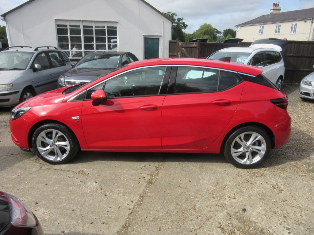 Vauxhall City Windlesham Used Power Red Vauxhall Astra For Sale Surrey