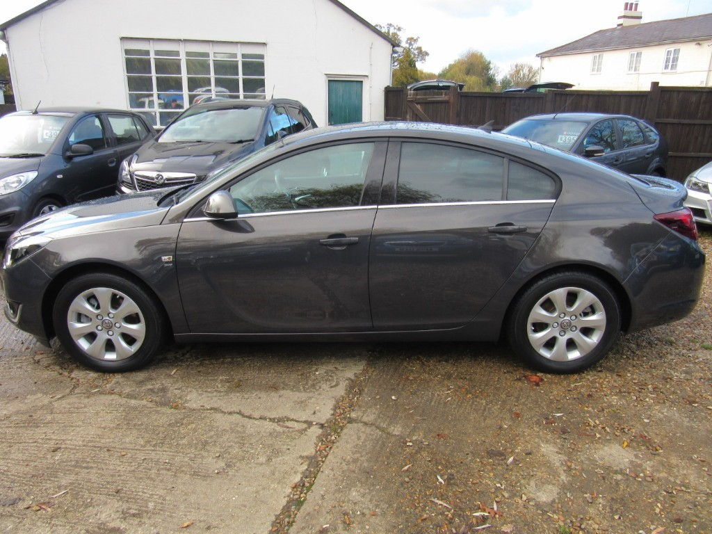 Vauxhall City Windlesham Used Phantom Grey Vauxhall Insignia For Sale Surrey