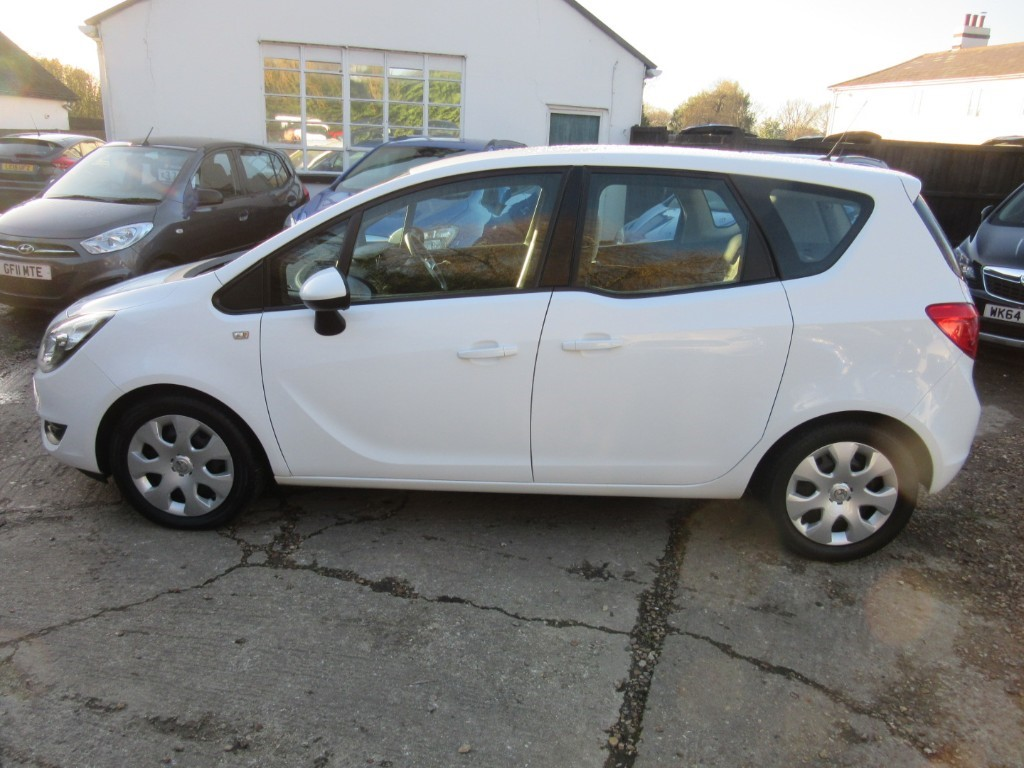 Vauxhall City Windlesham Used Polar White Vauxhall Meriva For Sale Surrey