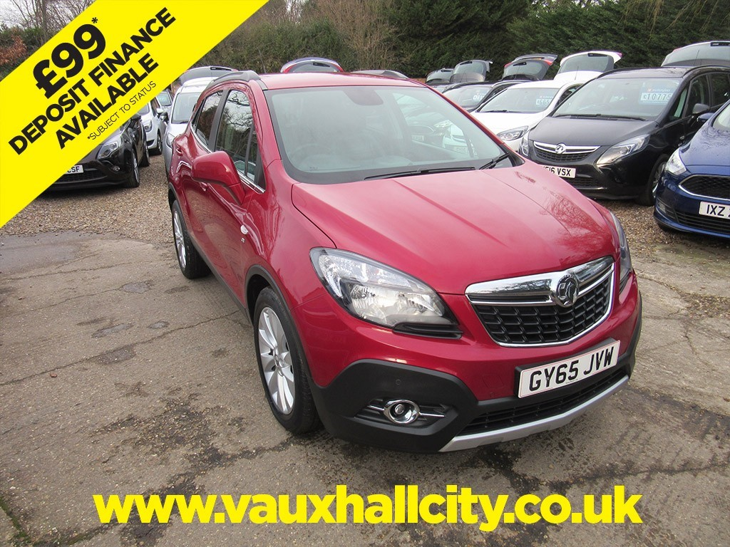 Vauxhall City Windlesham Used Burgundy Velvet Vauxhall Mokka For Sale Surrey