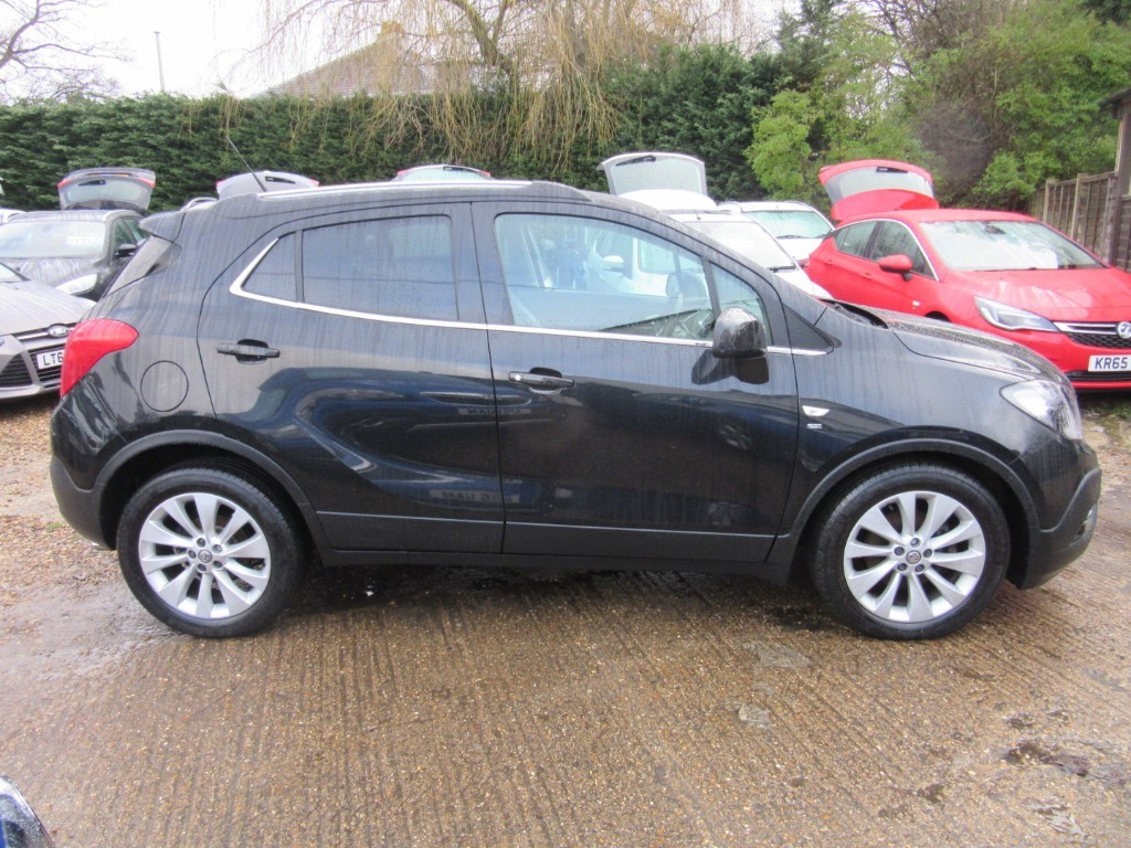 Vauxhall City Windlesham Used Carbon Black Vauxhall Mokka For Sale Surrey