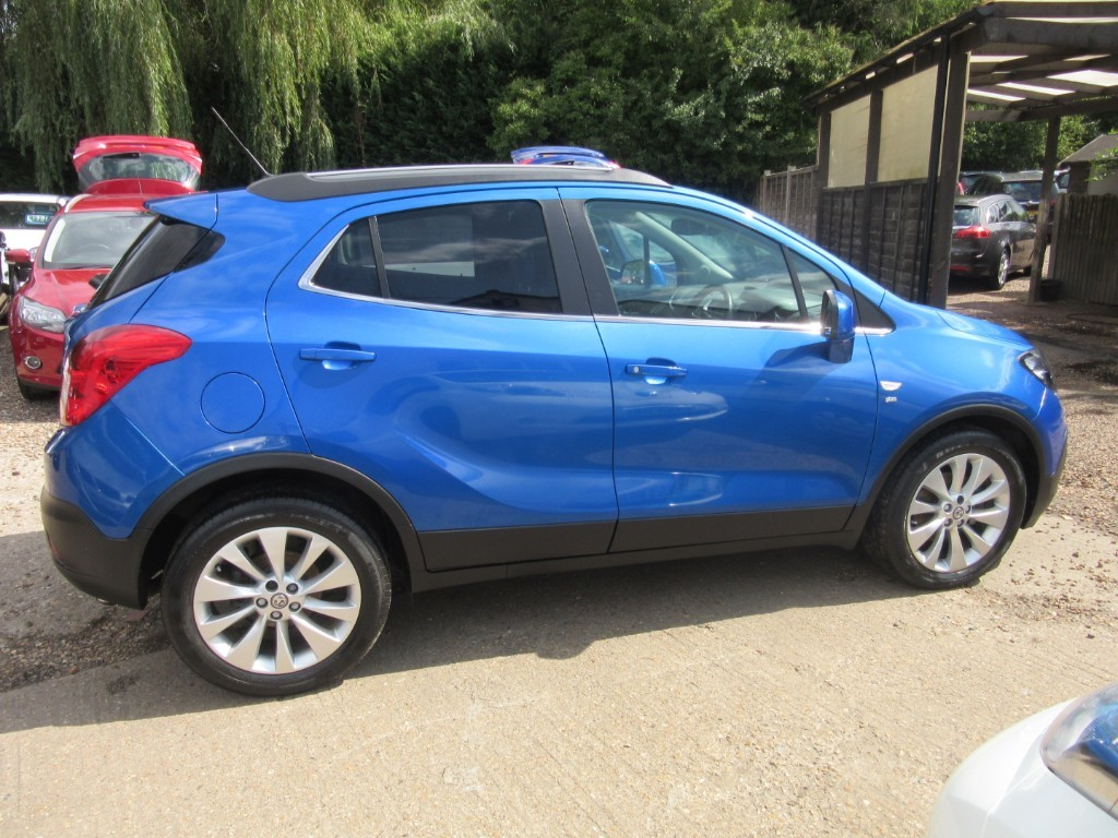 Vauxhall City Windlesham Used Pocaray Blue Vauxhall Mokka For Sale Surrey