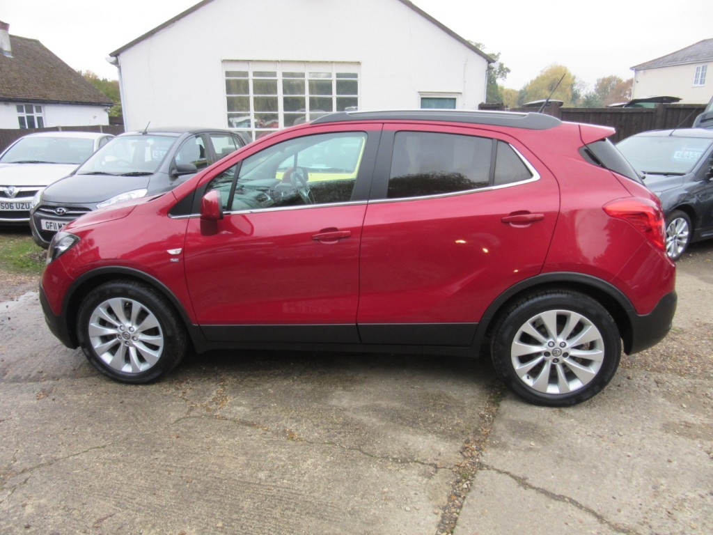 Vauxhall City Windlesham Used Damson Vauxhall Mokka For Sale Surrey