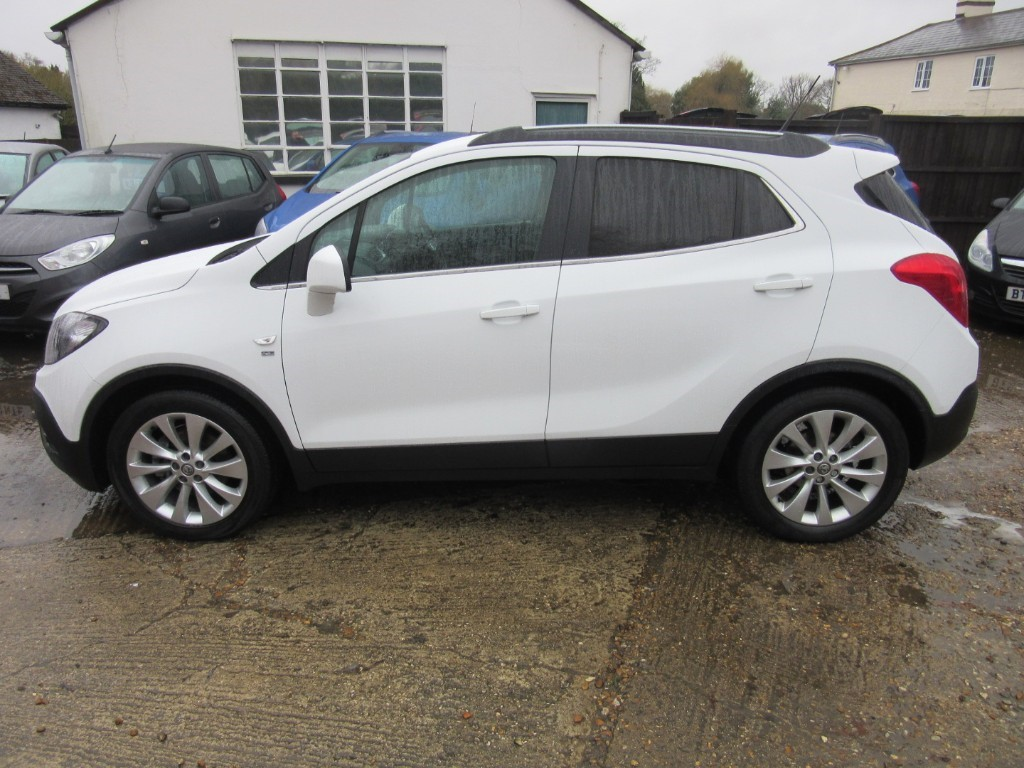 Vauxhall City Windlesham Used Polar White Vauxhall Mokka For Sale Surrey