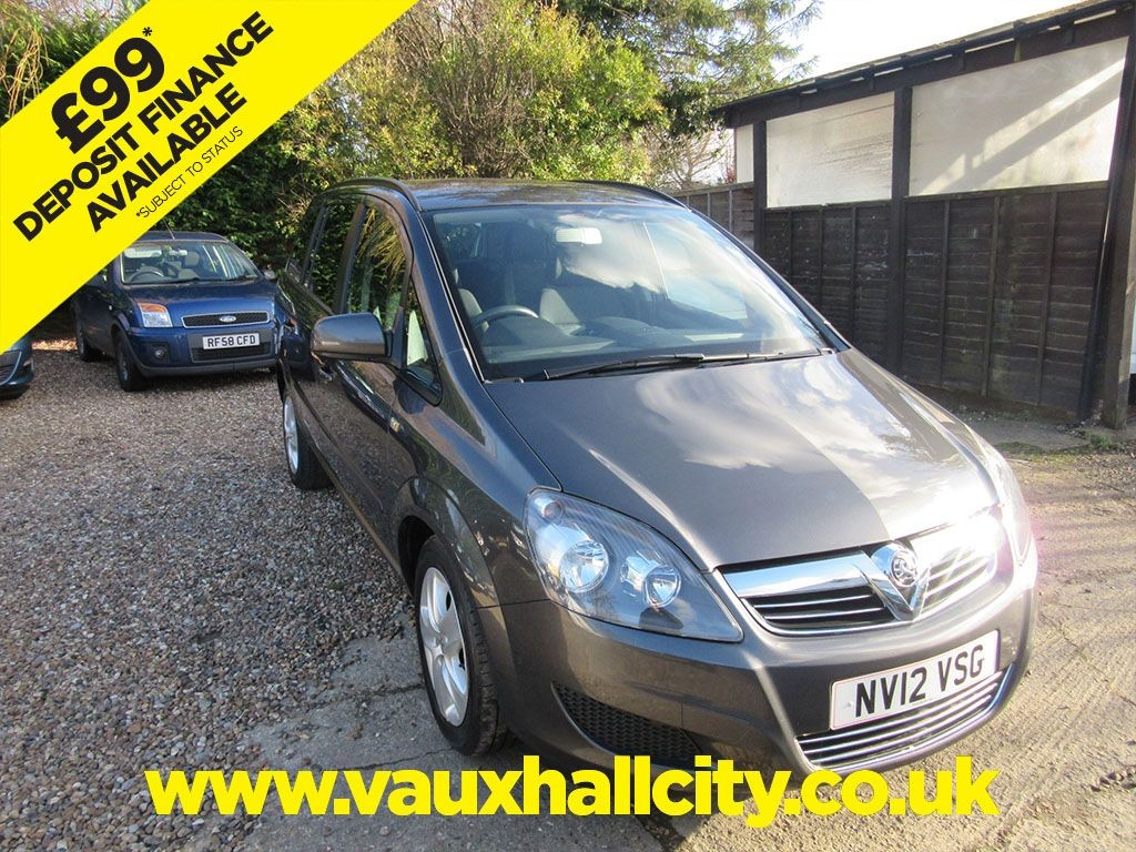 Vauxhall City Windlesham Used Phantom Grey Metalic Vauxhall Zafira For Sale Surrey