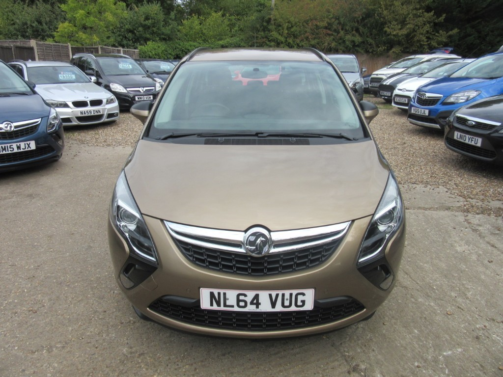 Vauxhall City Windlesham Used Sculptured Bronze Metalic Vauxhall Zafira Tourer For