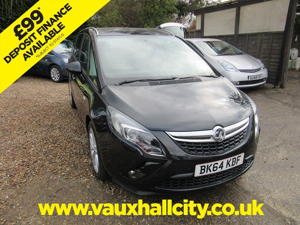 Vauxhall City Windlesham Used Sapphire Black Metalic Vauxhall Zafira Tourer For
