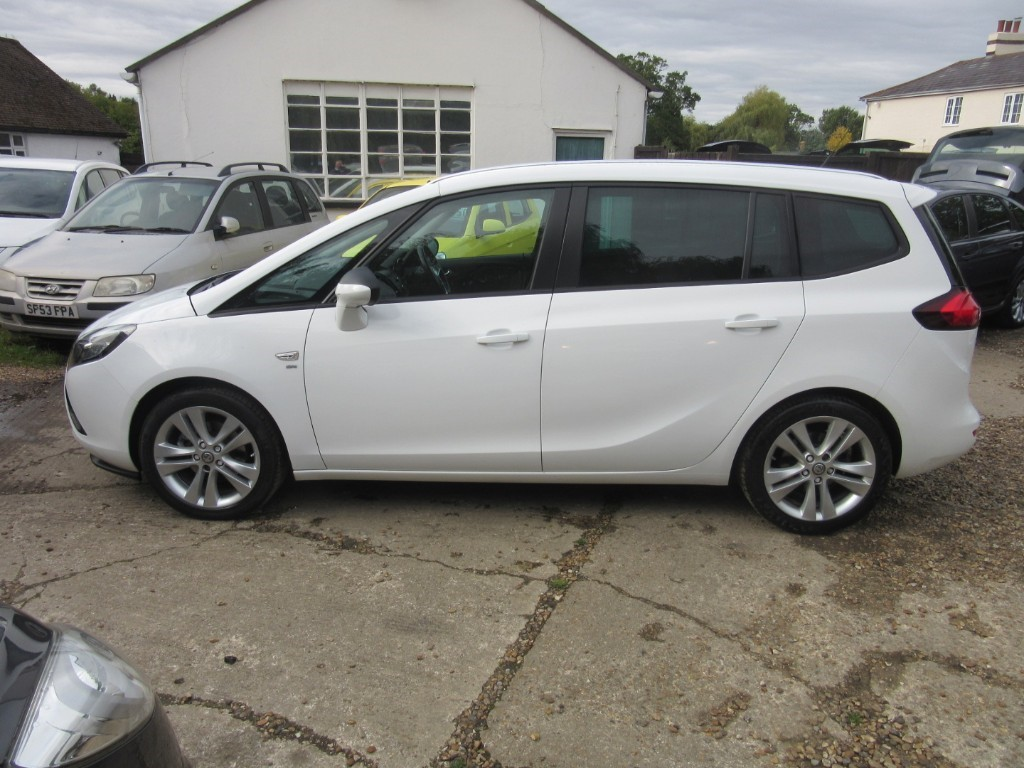 Vauxhall City Windlesham Used Vauxhall Zafira Tourer For Sale Surrey