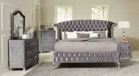 Deanna Upholstered Platform Bedroom Set - Bedroom Sets ...
