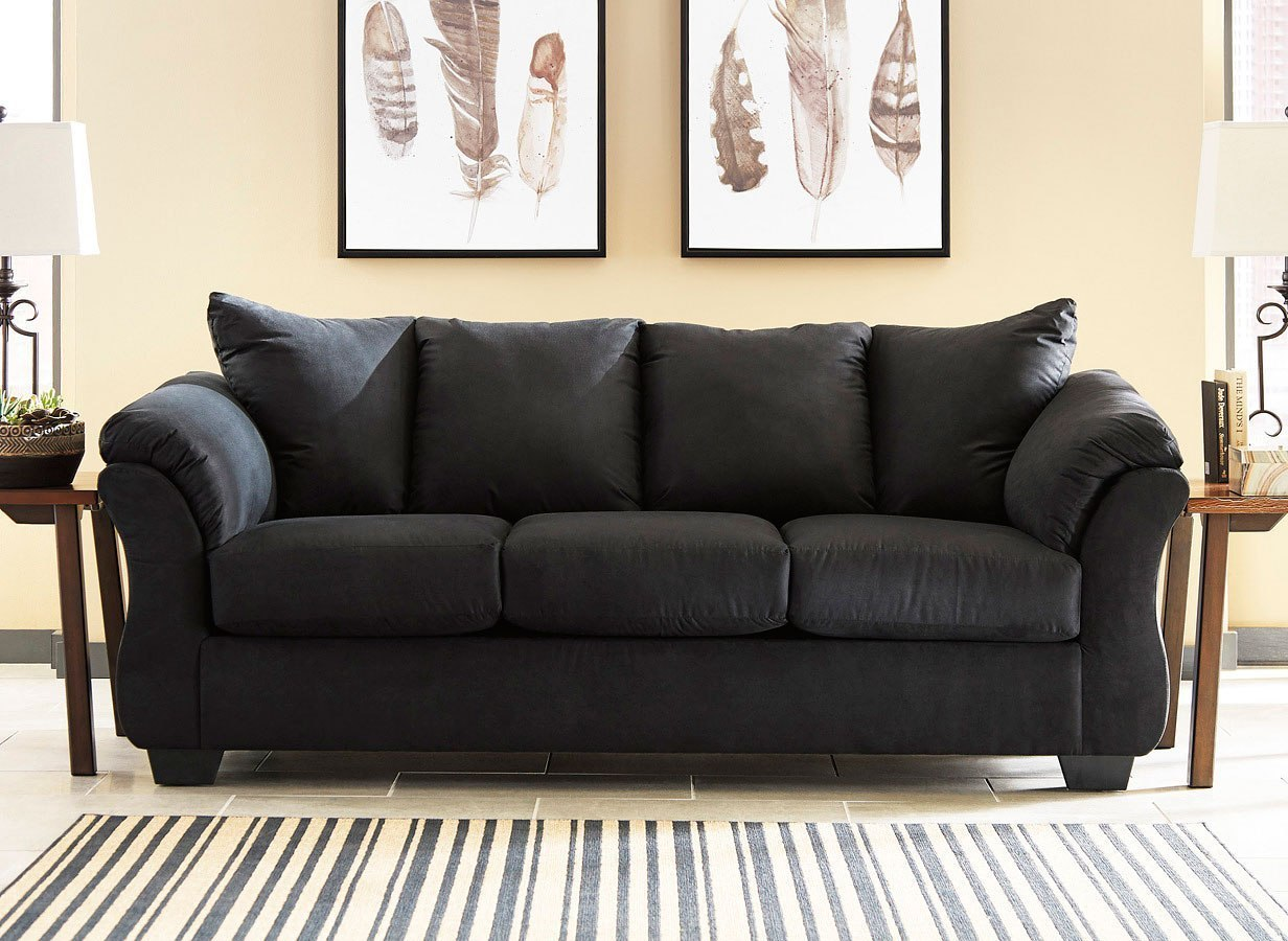 Darcy Sofa Ashley Review Darcy Black Sofa By Signature Design By Ashley, 1 Review(s