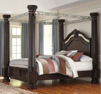 Laddenfield Canopy Bed - Beds - Bedroom Furniture - Bedroom
