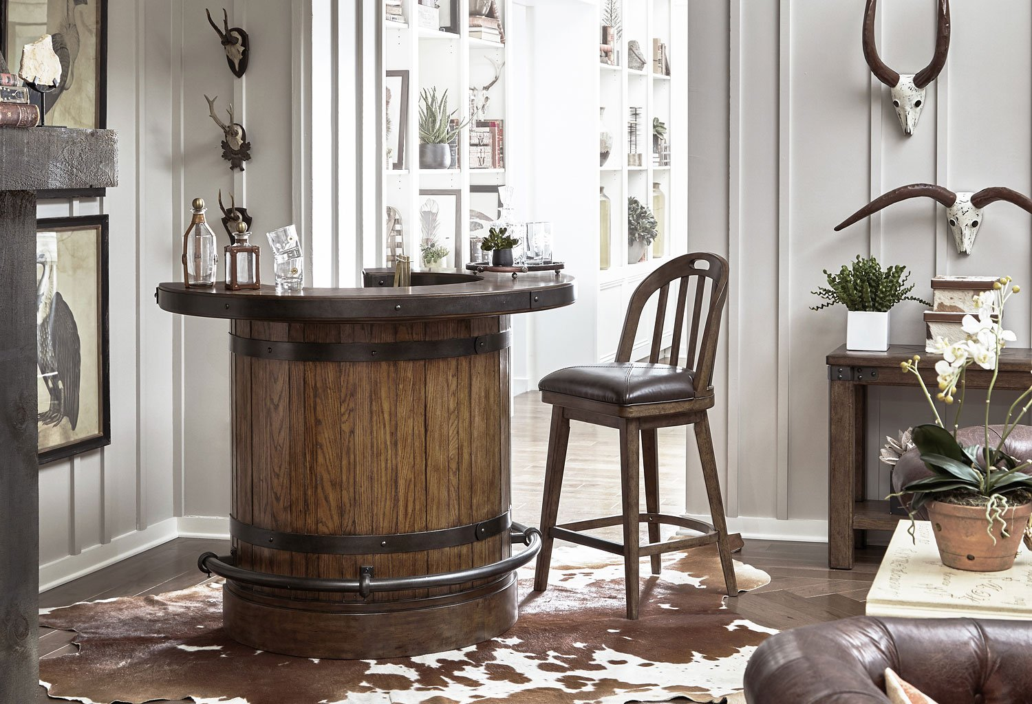 Home Bar Furniture Heartland Falls Home Bar Set