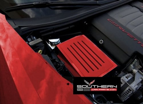 c7 corvette painted fuse box cover