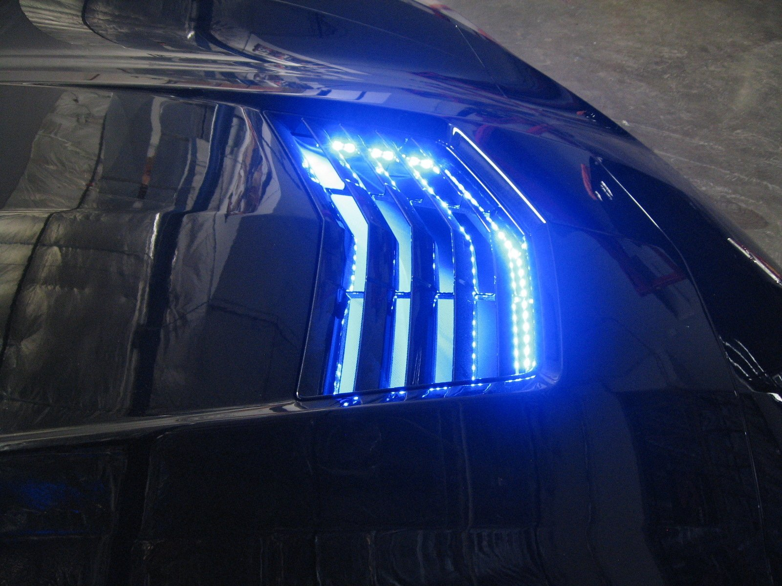 Lighting Rgb 2014 2019 C7 Corvette Rgb Complete Exterior Led Lighting Kit With Key Fob Control