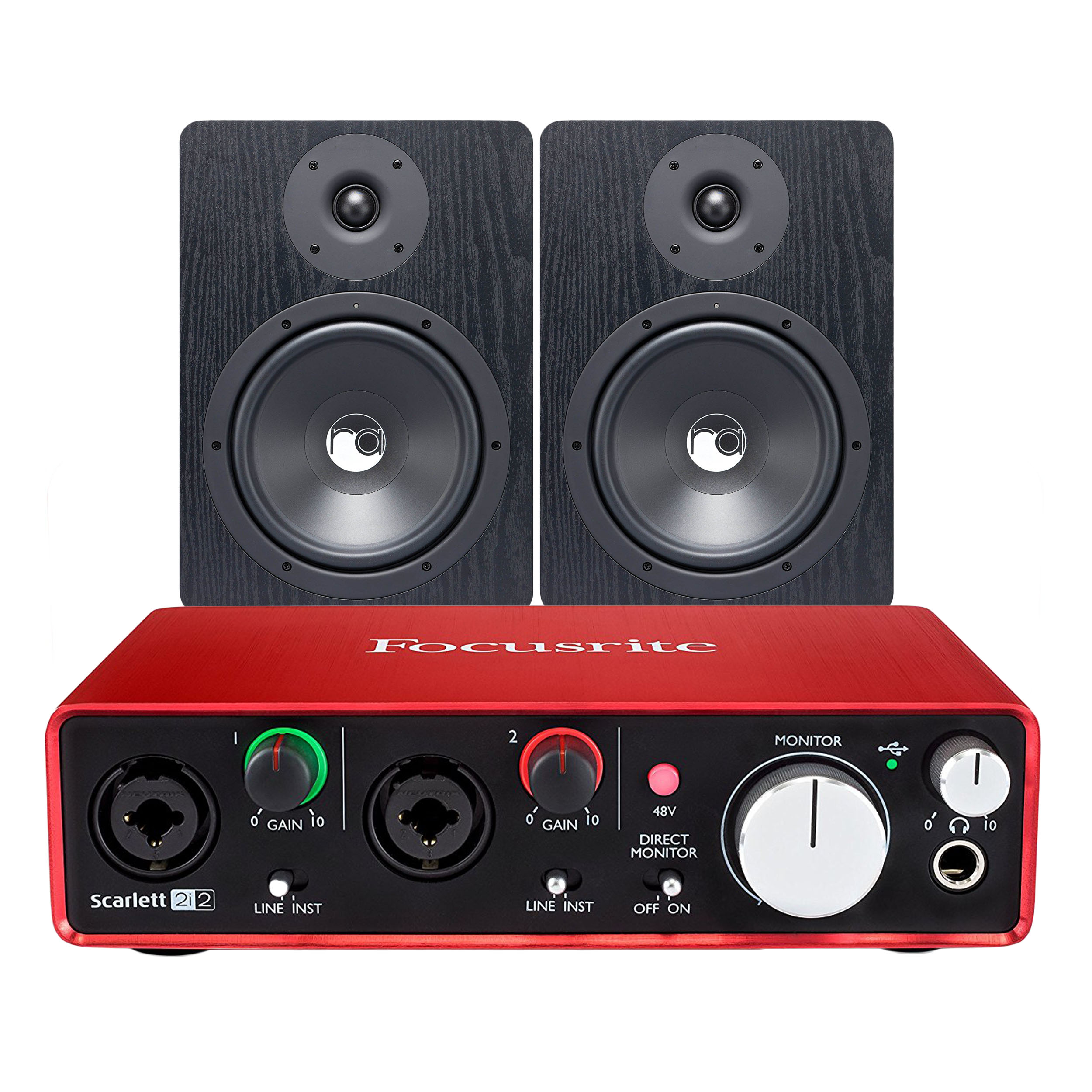 Scarlett 2i2 Details About Focusrite Scarlett 2i2 2nd Gen 2 In 2 Out Usb Audio Interface Bundle