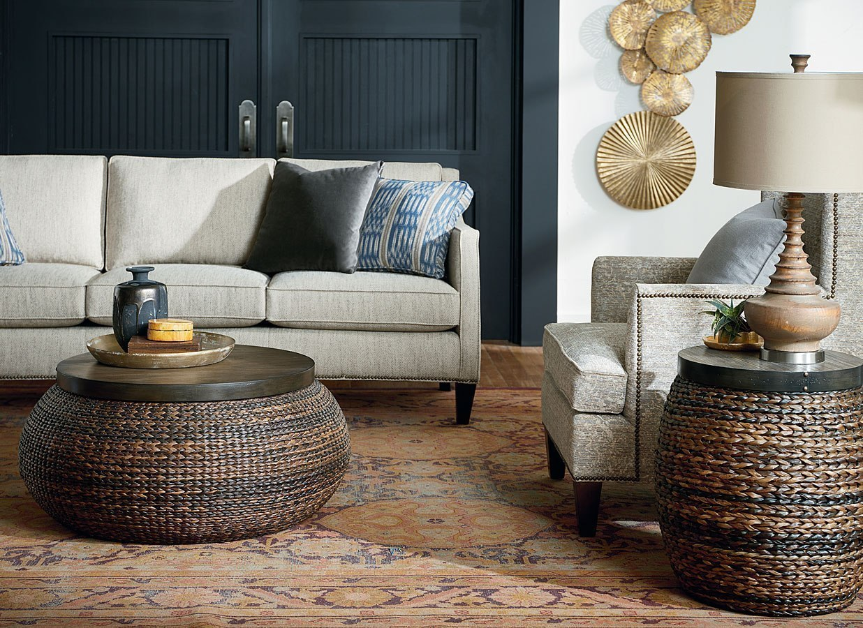 Abaca Mattress Hidden Treasures Woven Abaca Occasional Table Set