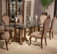 Platine De Royale Rectangular Dining Room Set (Light ...