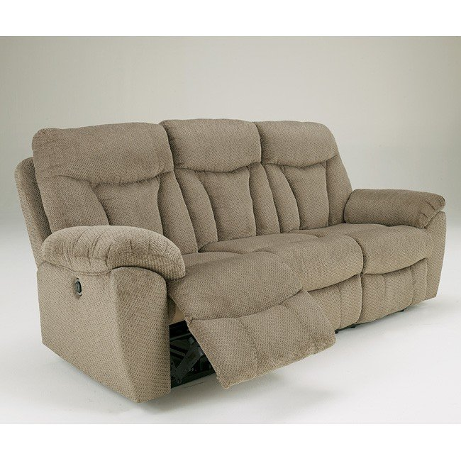 Sofas For Sale Grimsby Grimsby Mushroom Reclining Sofa W/ Power Signature Design