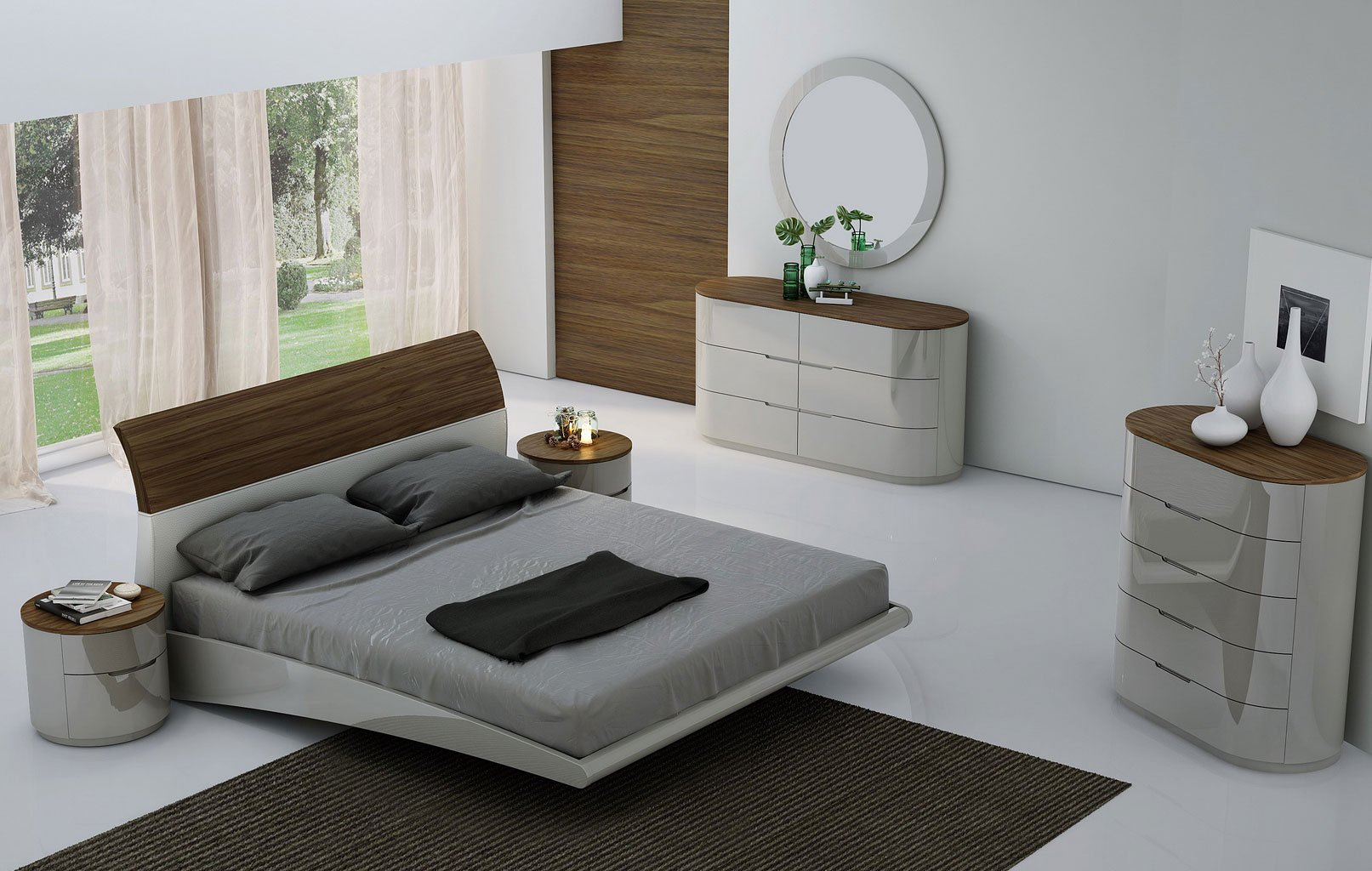 Furniture Amsterdam Amsterdam Platform Bedroom Set Jm Furniture 1 Reviews
