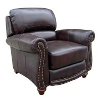 James Leather Push Back Recliner Leather Italia, 4 Reviews ...