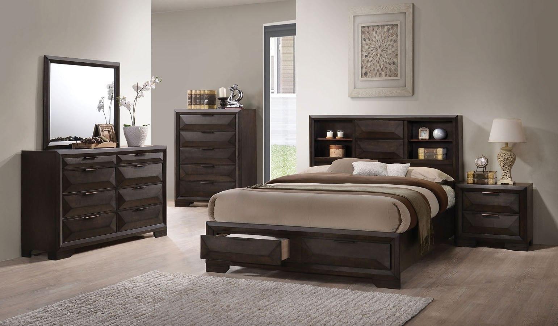 Merveille Storage Bedroom Set Acme Furniture Furniture Cart